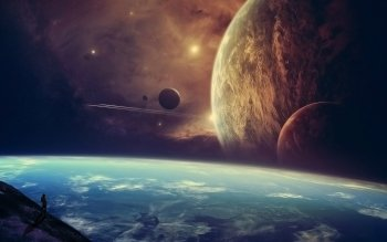 Научная фантастика - Planetscape Wallpapers and Backgrounds ID : 337386