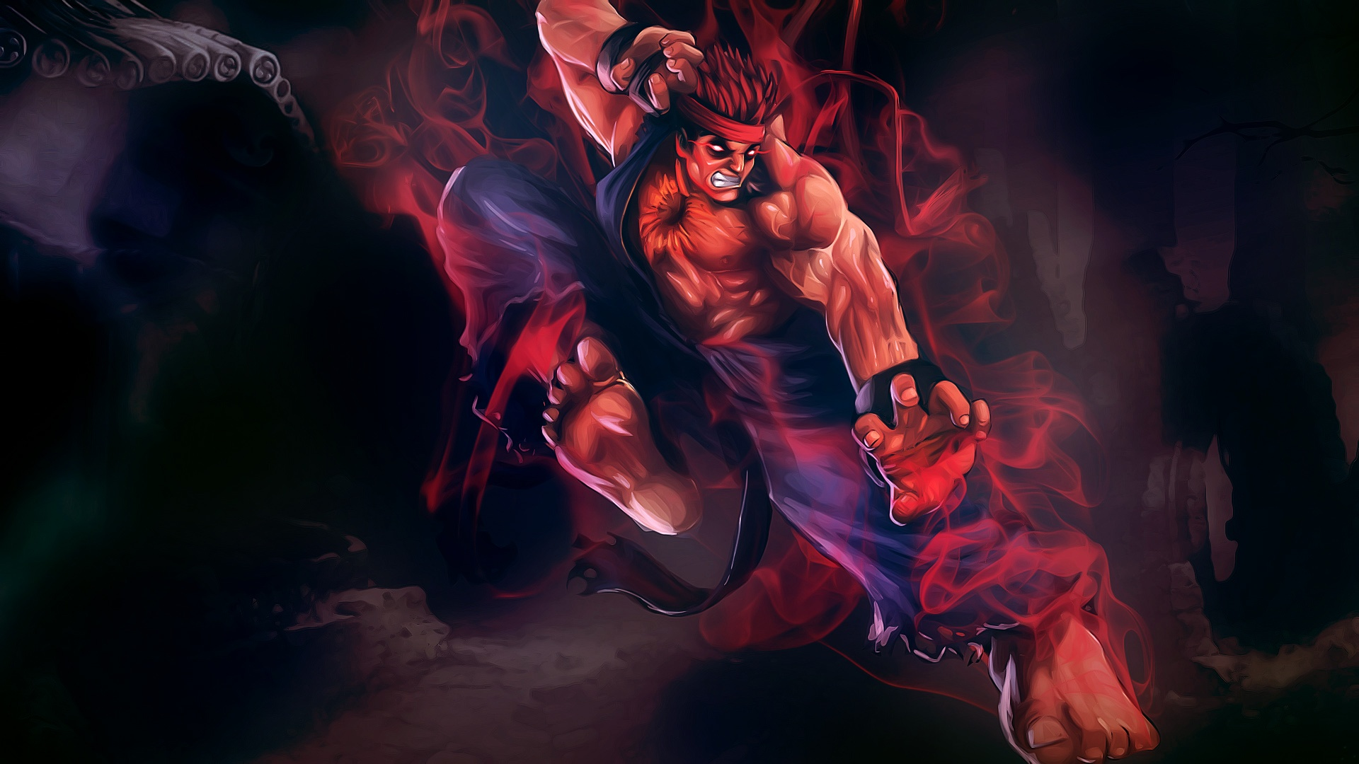 Street Fighter HD Wall...