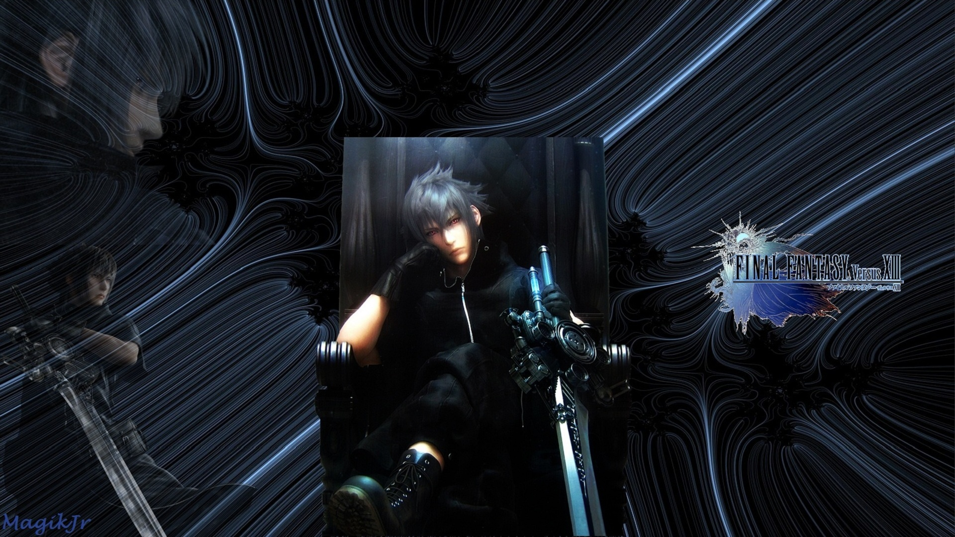 Final Fantasy Versus Xiii Hd Wallpaper Background Image