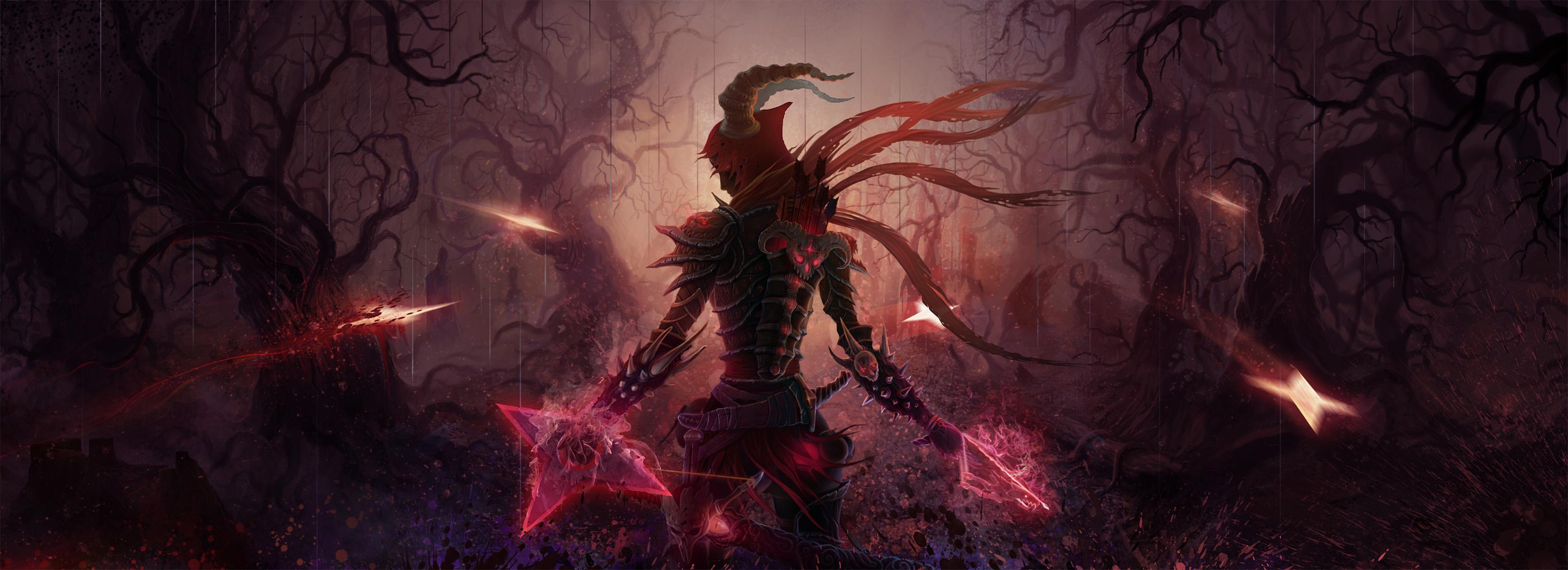 Diablo Iii Hd Wallpaper Background Image 3302x1200 Id 338688