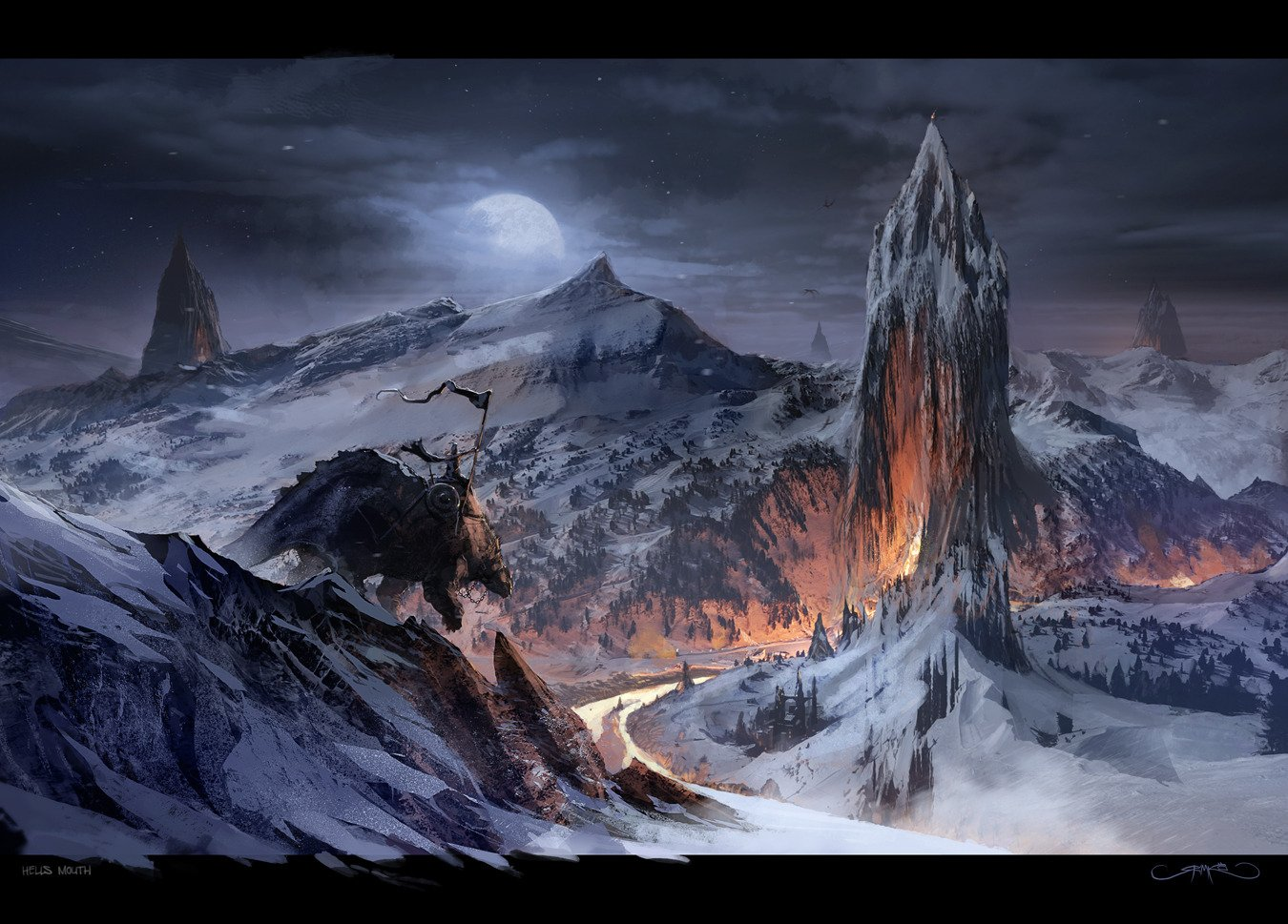 Matte Painting Background