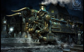 Science-Fiction - Steampunk Wallpapers and Backgrounds ID : 339016