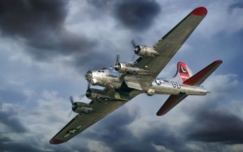 Militär - Boeing B-17 Flying Fortress Wallpapers and Backgrounds ID : 339125
