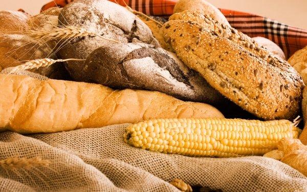 Food Bread Corn HD Wallpaper | Background Image