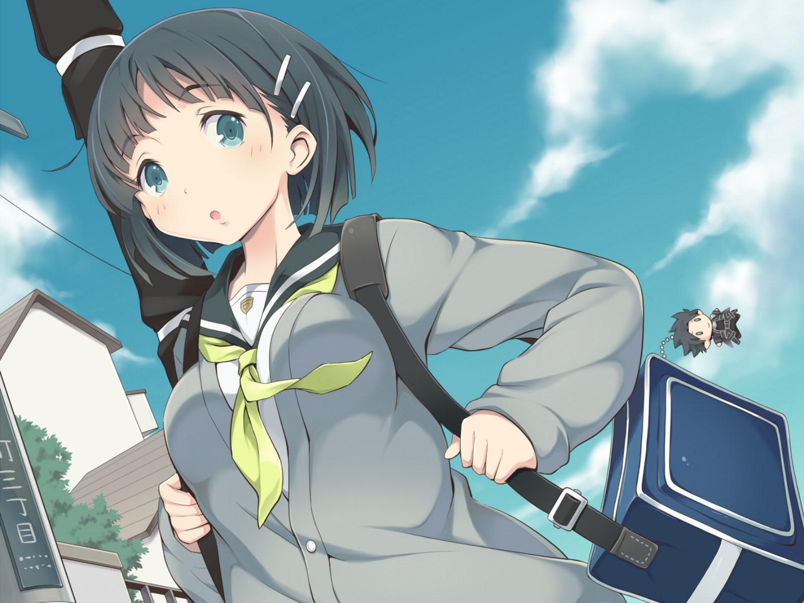 Image Result For Wallpaper Anime Girl School
