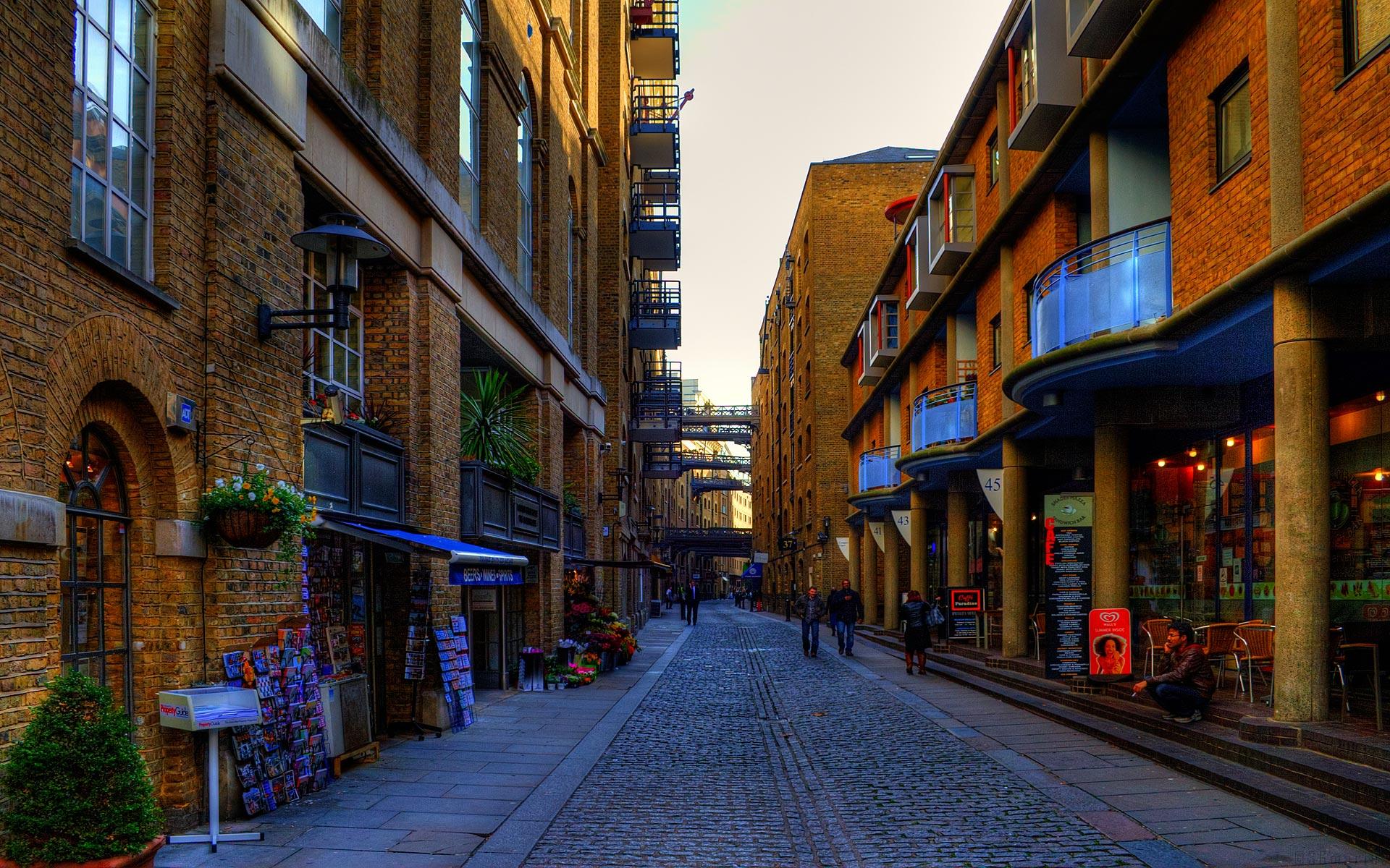 London Streets Fond D Ecran Hd Arriere Plan 1920x1200 Id