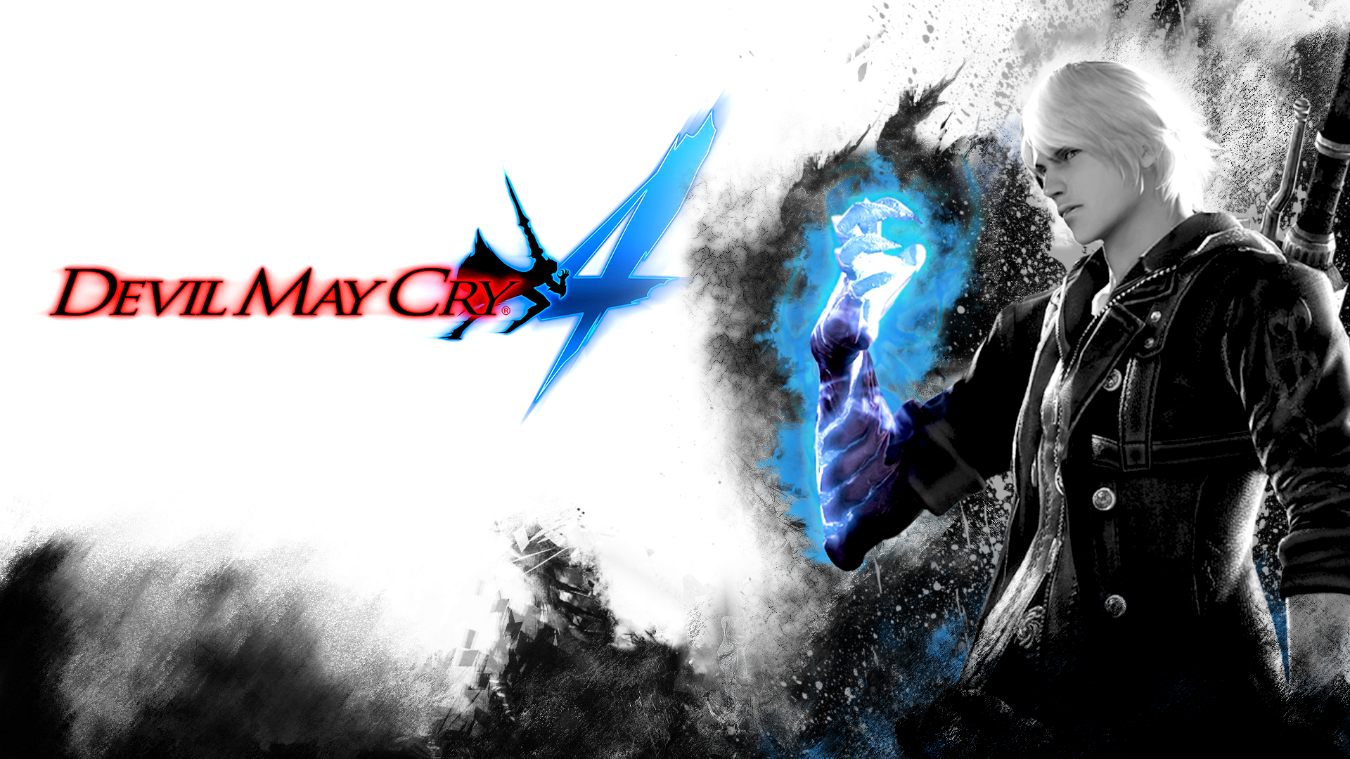 Devil May Cry 4 Nero Fondo De Pantalla Hd Fondo De