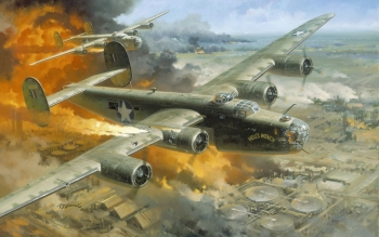 Militär - Consolidated B-24 Liberator Wallpapers and Backgrounds ID : 340332