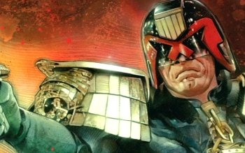 Comics - Judge Dredd Wallpapers and Backgrounds ID : 340885