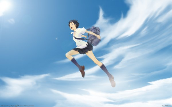 Anime The Girl Who Leapt Through Time HD Wallpaper | Background Image