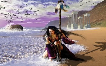 Fantasy - Frauen Wallpapers and Backgrounds ID : 342900