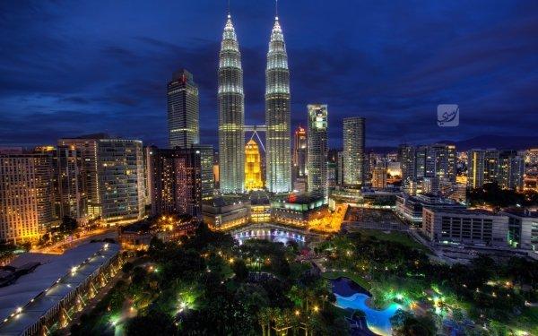 Man Made Petronas Towers Buildings Kuala Lumpur Malaysia HD Wallpaper | Background Image