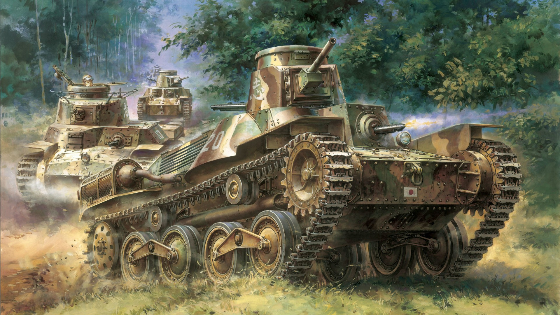 Go Army Wallpaper: Tank Full HD Wallpaper And Background Image