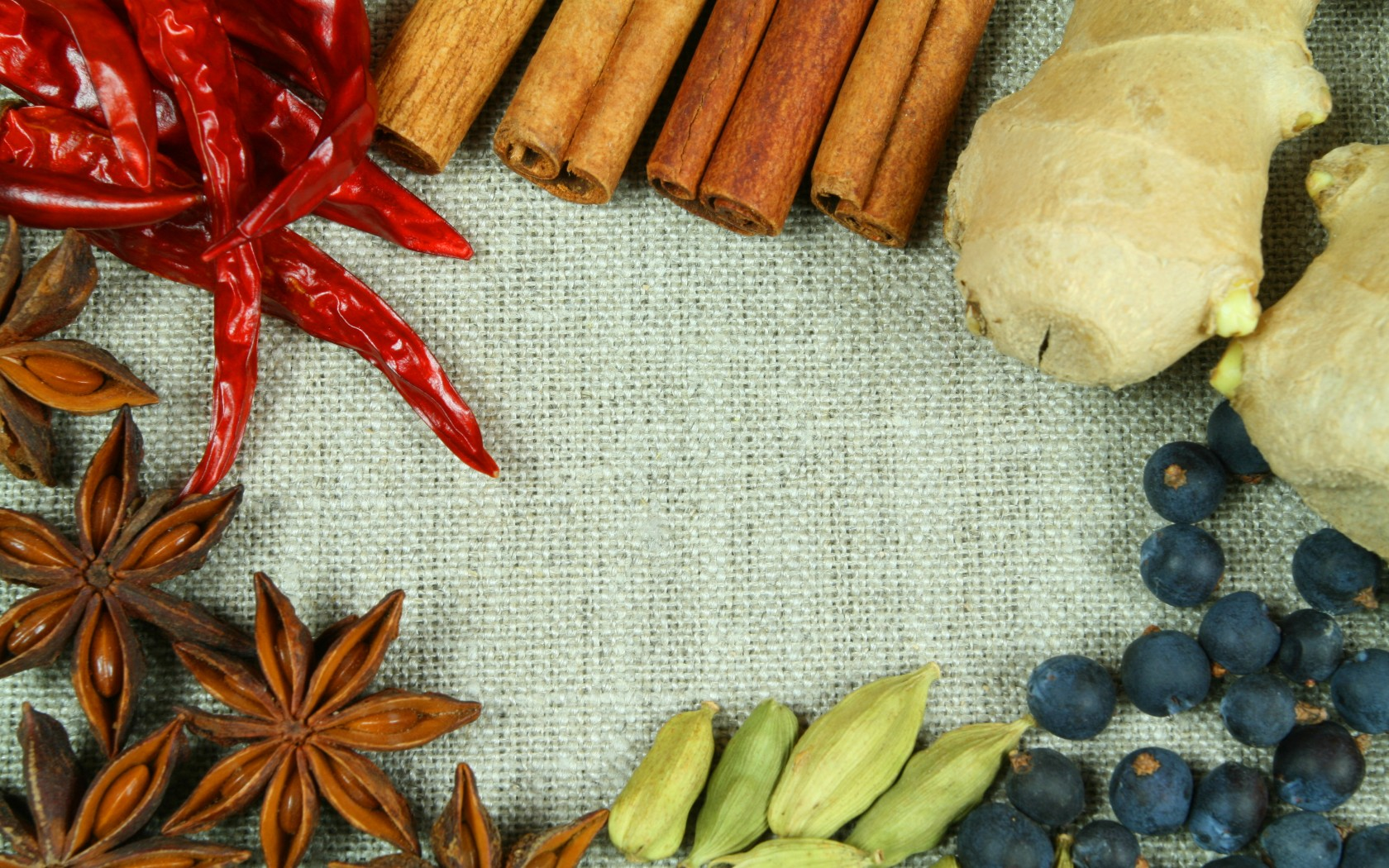 Herbs And Spices Wallpaper And Background Image