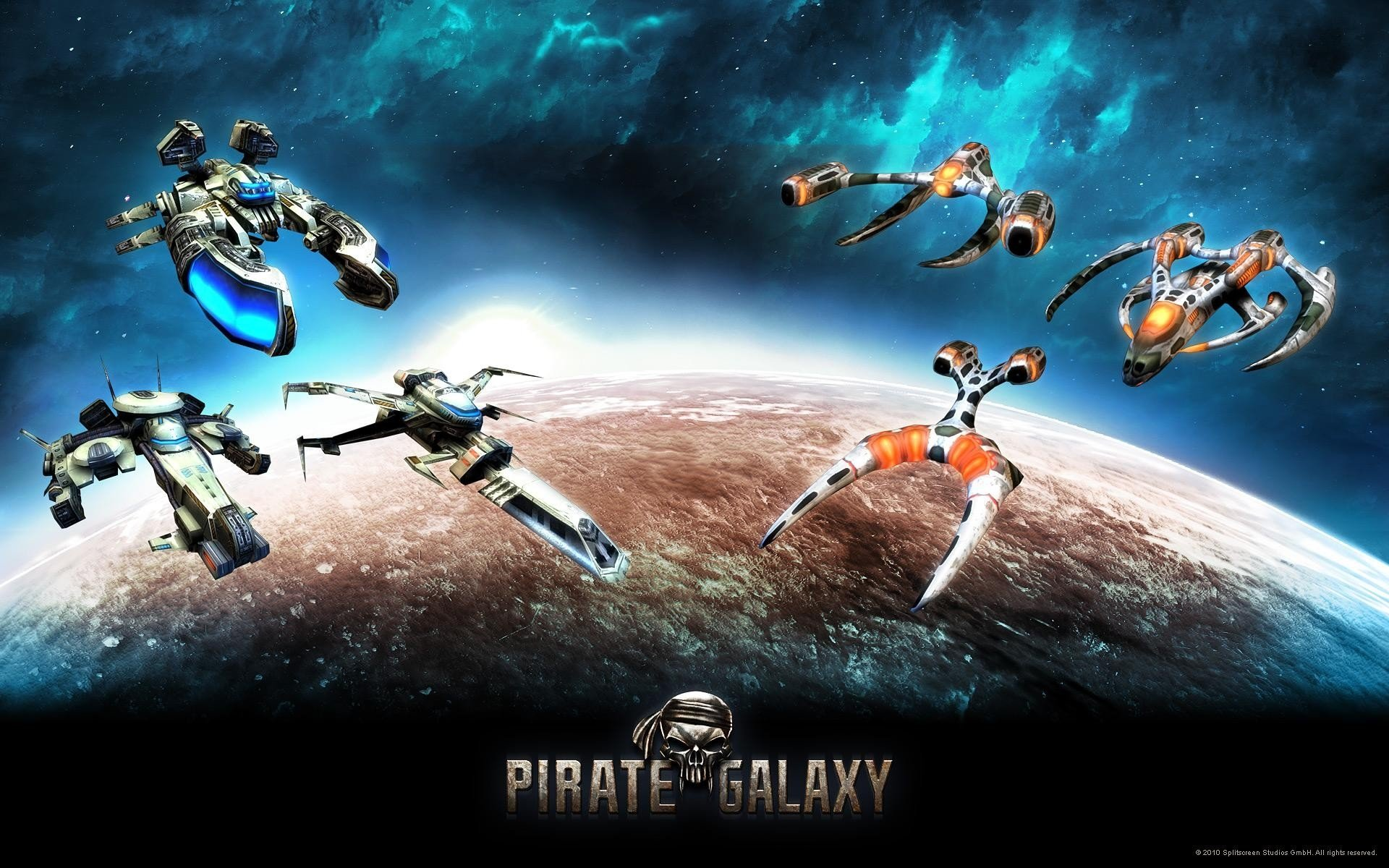 Pirate Galaxy Baupläne