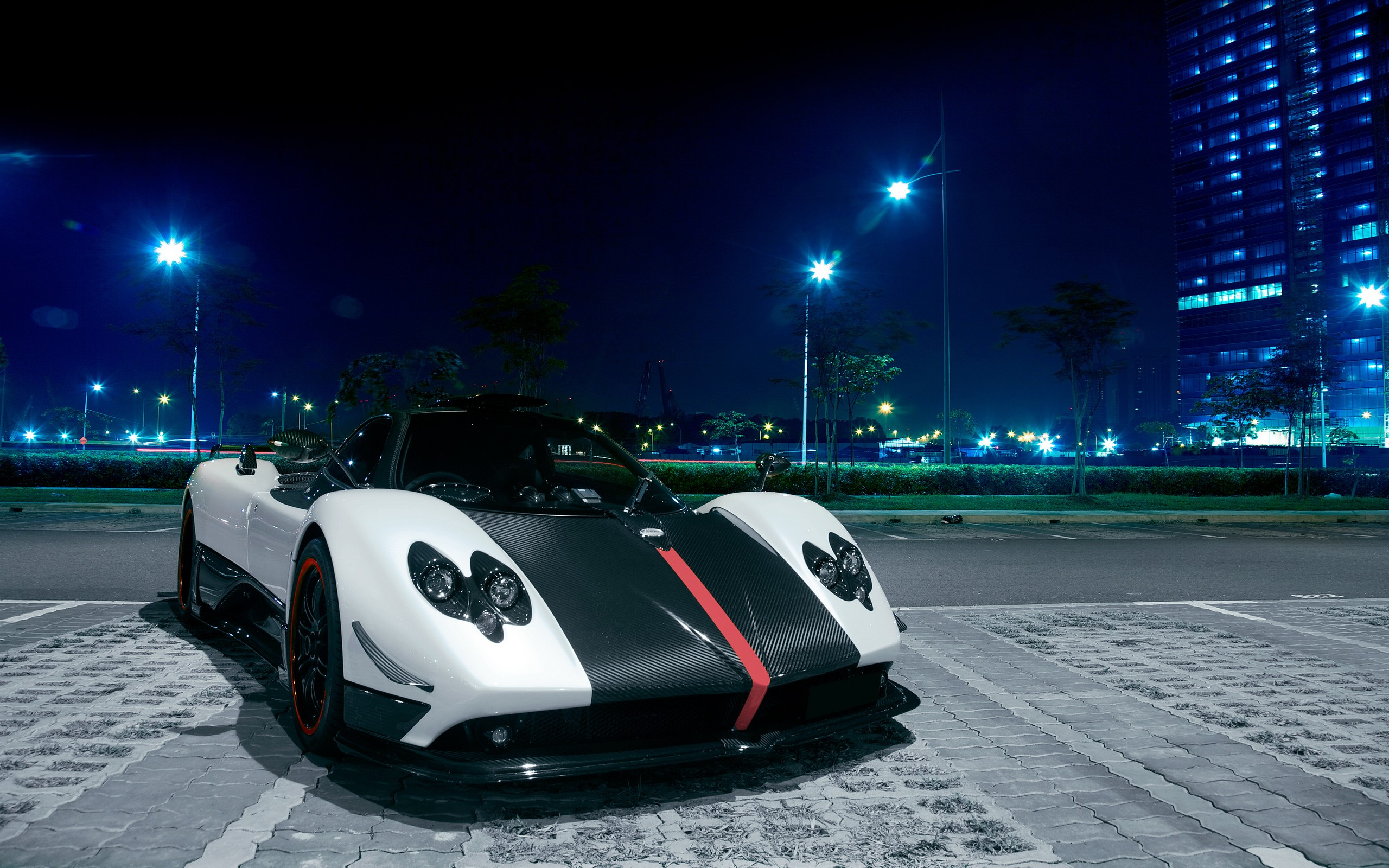 Background Car Hd Wallpapers Cities: Pagani Zonda Full HD Wallpaper And Background Image