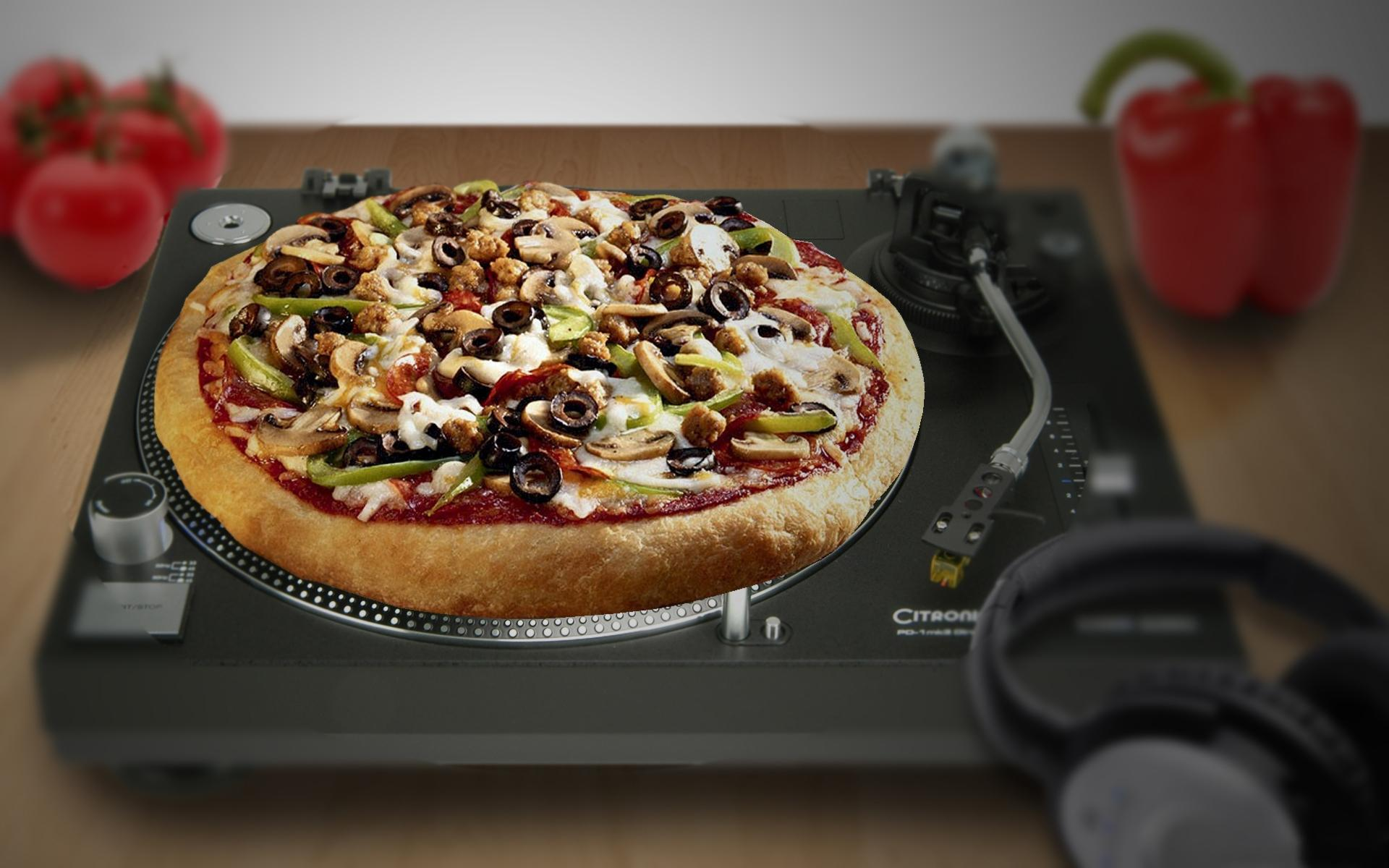 Resultado de imagen de pizza music