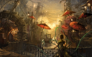Sciencefiction - Steampunk Wallpapers and Backgrounds ID : 345063