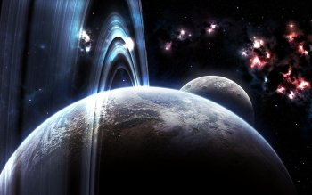 Sci Fi - Planetary Ring Wallpapers and Backgrounds ID : 345781