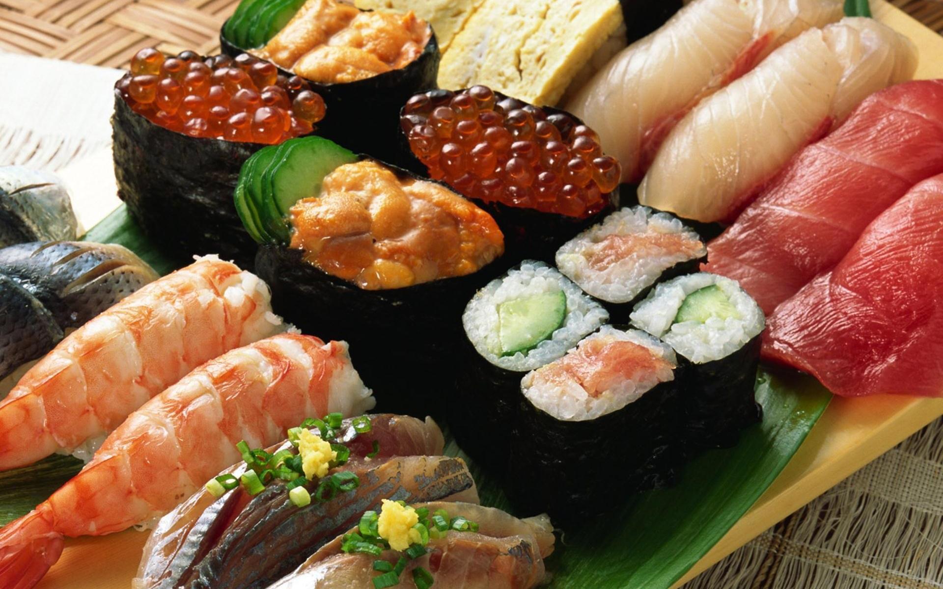 Alimento - Sushi  Sfondo