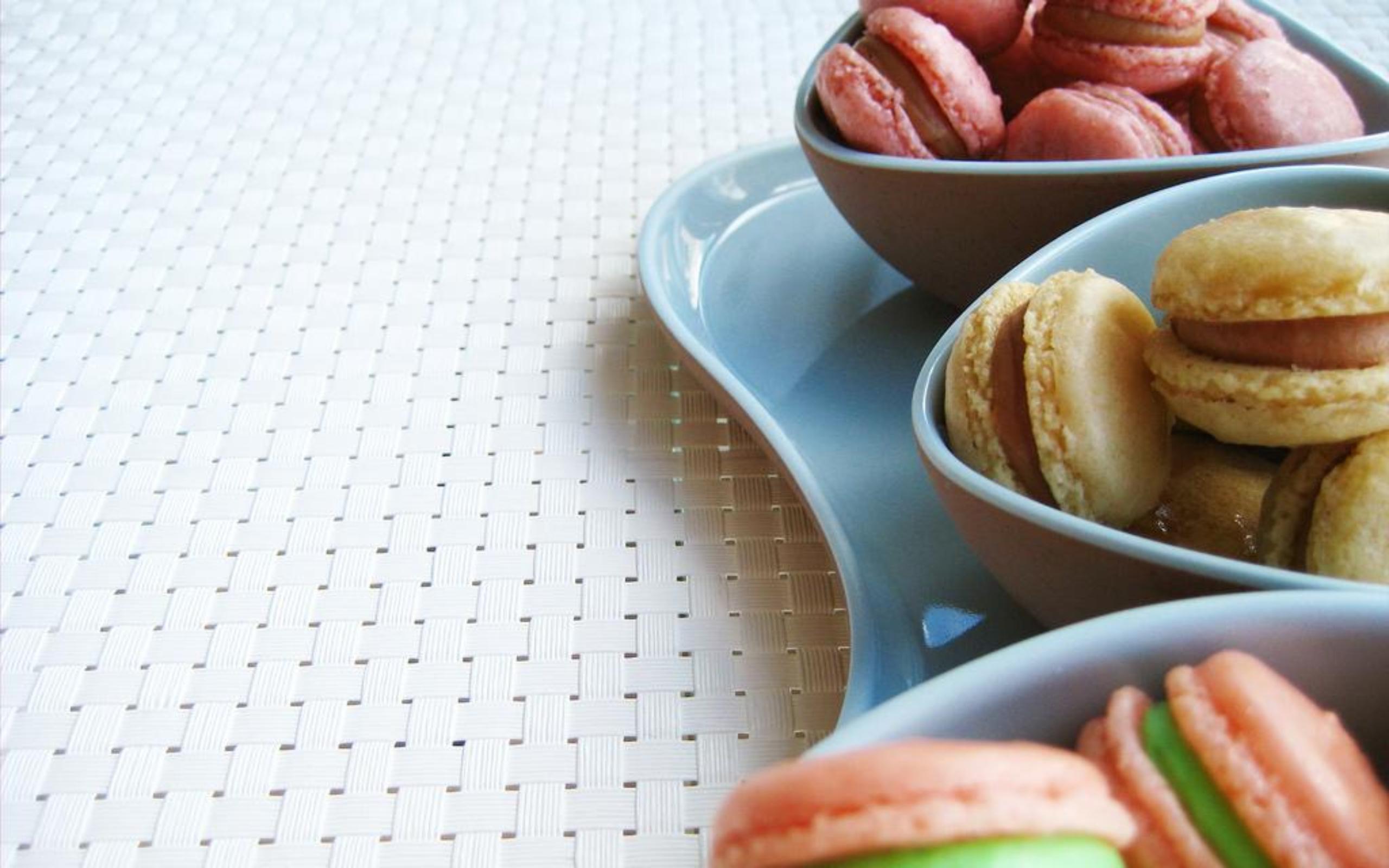 Alimento - Macaron  Sfondo