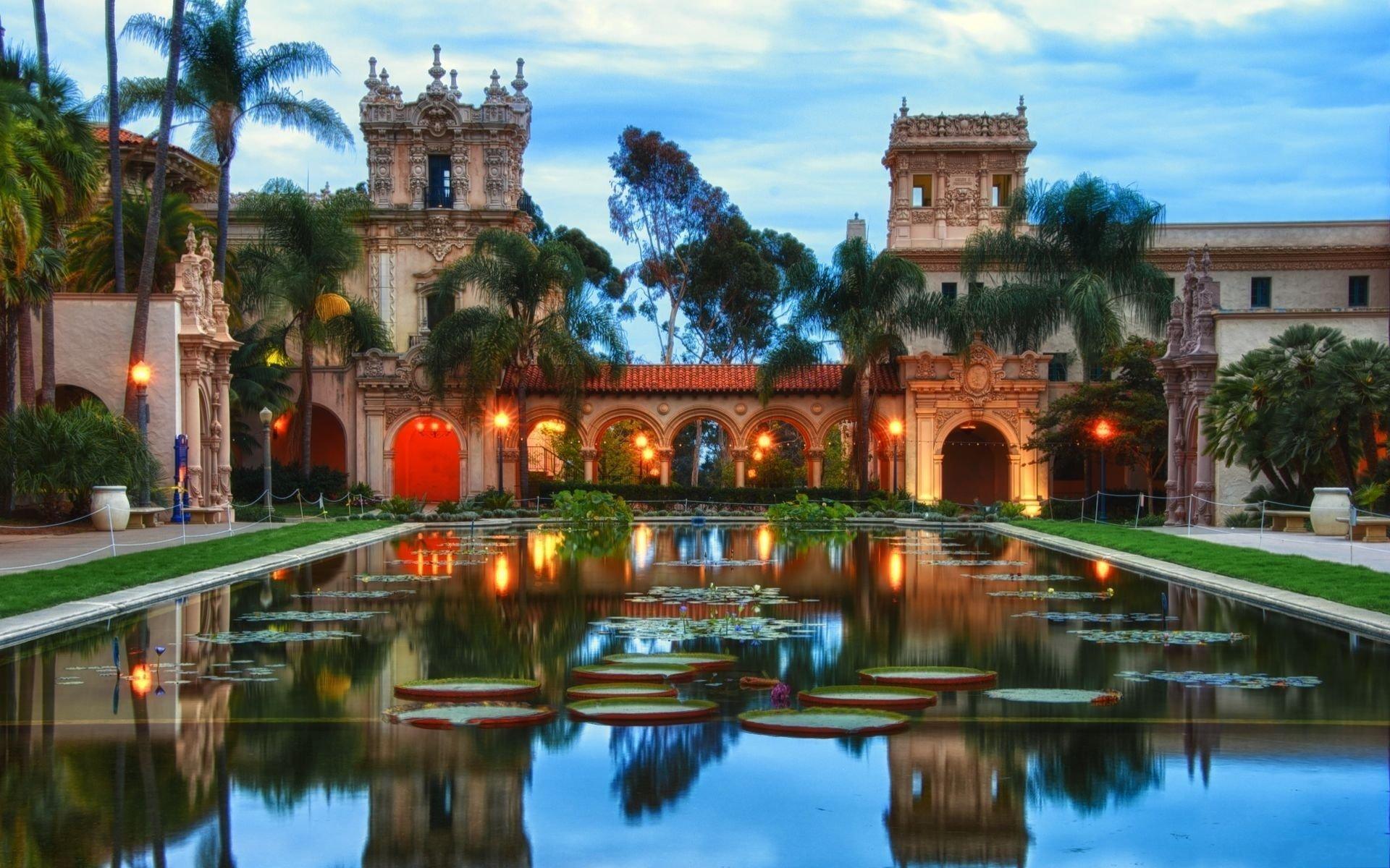 Photography - Reflection  Garden California Wallpaper