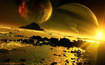 Sci Fi - Planetscape Wallpapers and Backgrounds ID : 349946