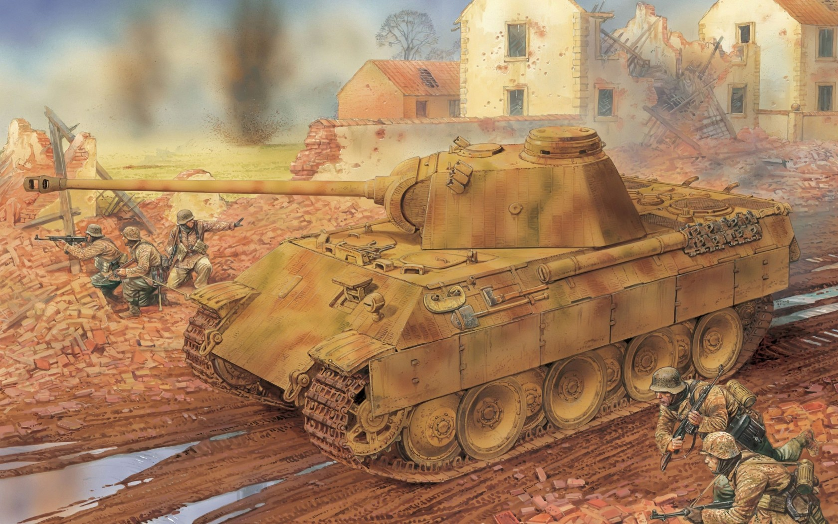 German panther wallpaper and background image 1680x1050 id350179 military panther tank wallpaper thecheapjerseys Choice Image
