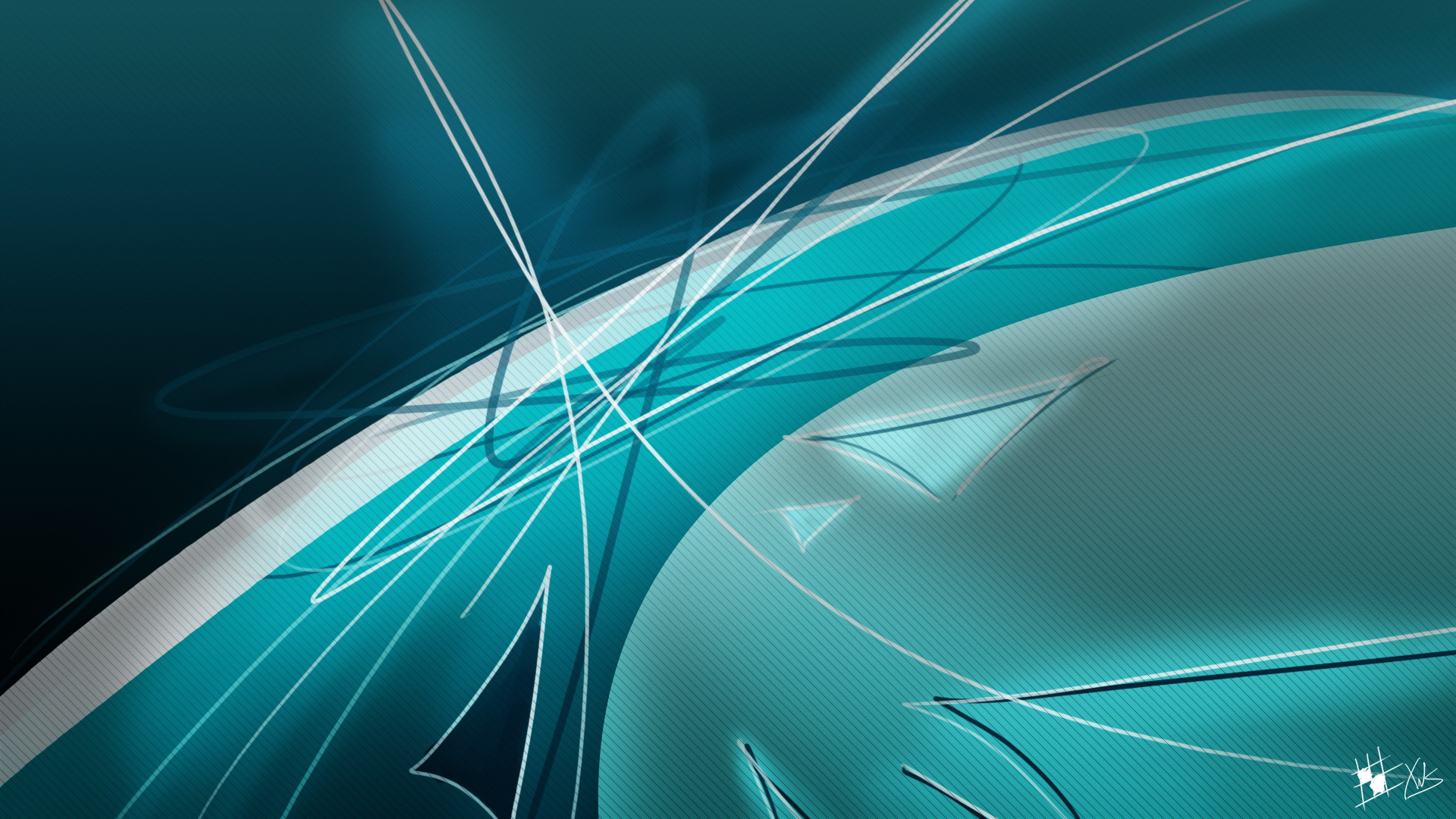 turquoise abstract computer wallpaper - photo #9