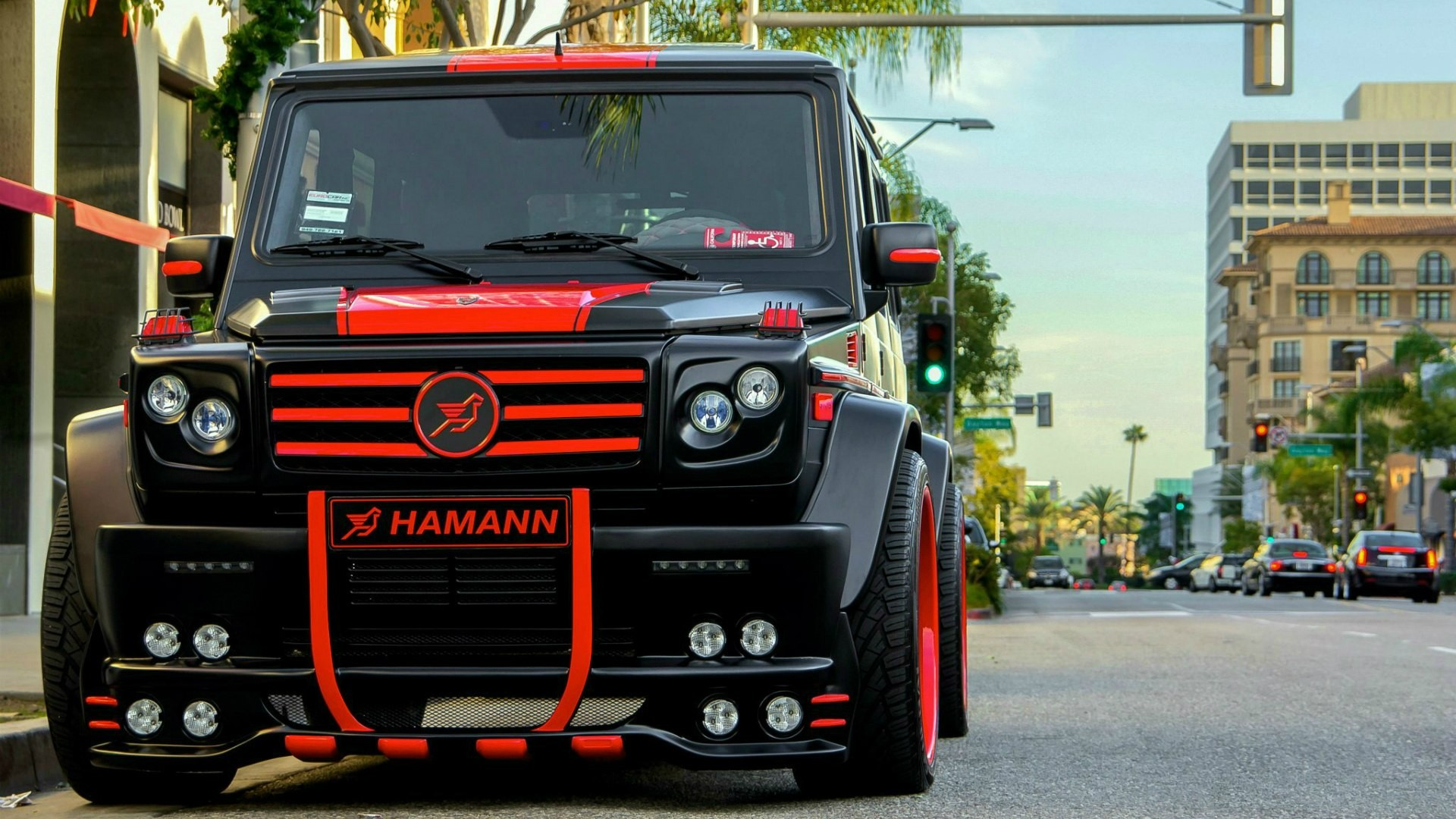 1 Mercedes Benz G55 Amg Hd Wallpapers Backgrounds