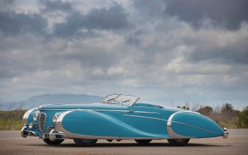 Fordon - 1949 Delahaye Type 175 S Roadster Wallpapers and Backgrounds ID : 351125
