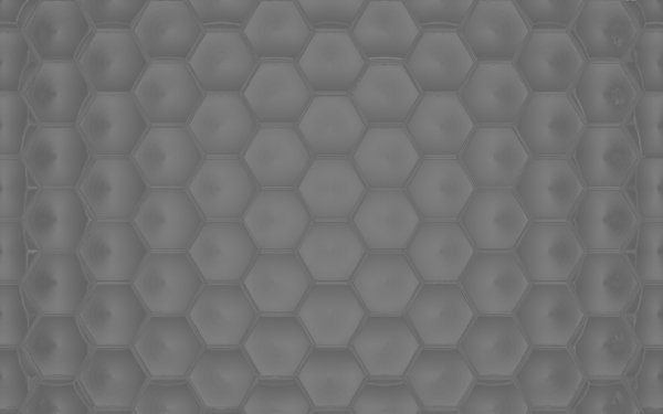 Abstract Hexagon 3D Gray HD Wallpaper | Background Image