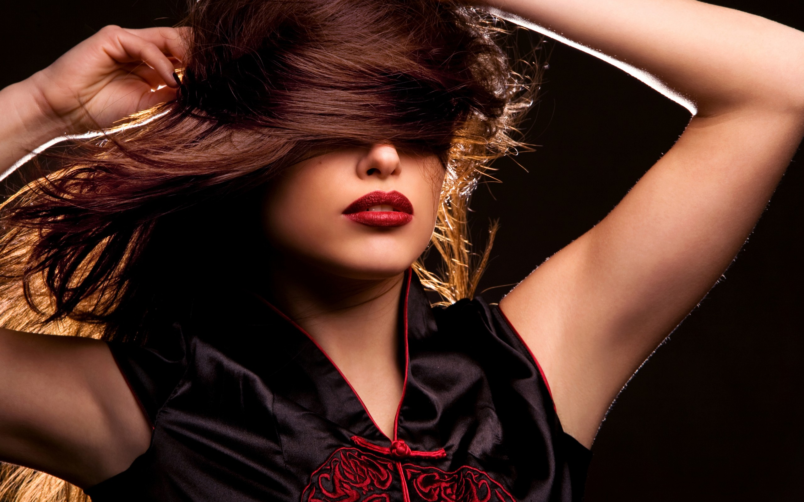 Фото девушек с дерзкими волосами