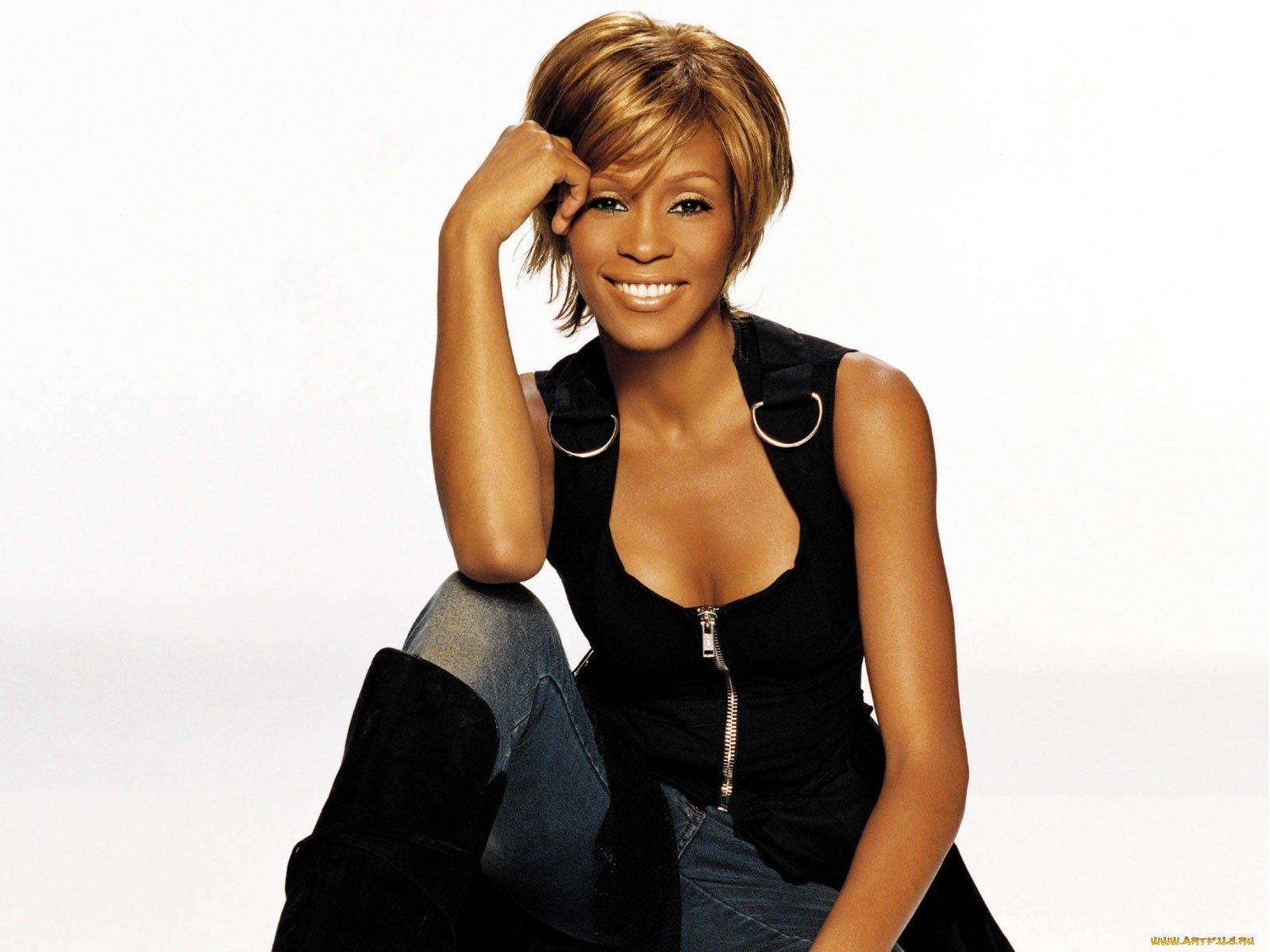 Whitney Houston Hairstyles 10 Whitney Houston Hd Wallpapers Backgrounds Wallpaper Abyss