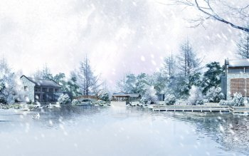 Artistisk - Winter Wallpapers and Backgrounds ID : 353929