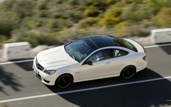 Vehicles - 2012 Mercedes-benz C63 Amg Coupe Wallpapers and Backgrounds ID : 353956