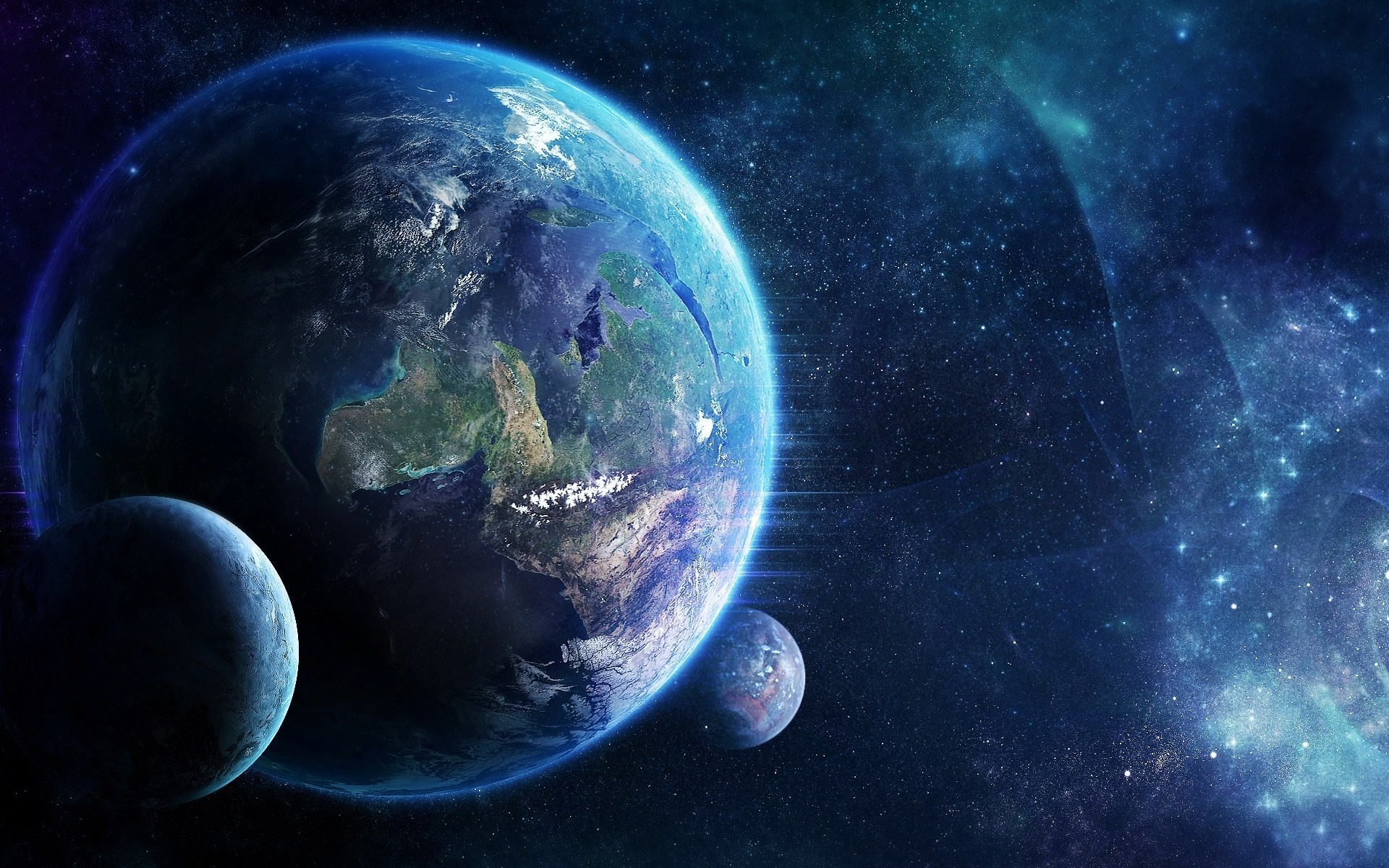 Science Fiction - Planètes  Fond d'écran