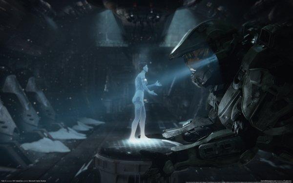 Jeux Vidéo Halo 4 Halo Cortana Fond d'écran HD   Arrière-Plan