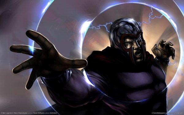 Video Game X-Men Legends II: Rise of Apocalypse X-Men Magneto HD Wallpaper | Background Image