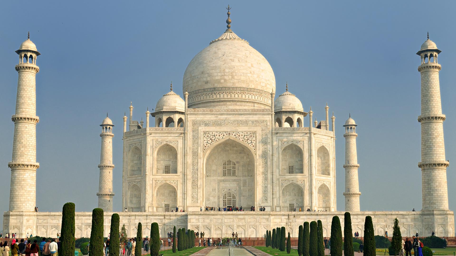 Taj mahal hd wallpaper background image 1920x1080 id - Taj mahal background hd ...