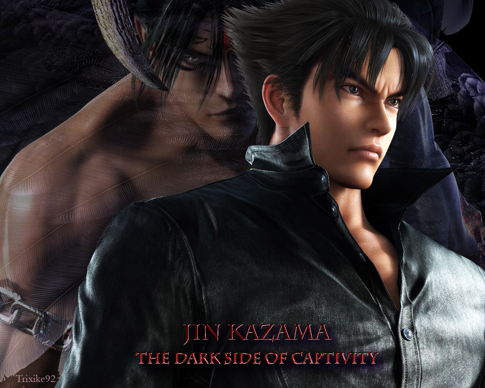 Movie - Tekken: Blood Vengeance  Jin Kazama Tekken Tekken Tag Tournament 2 Tekken 5 Tekken 6 Wallpaper