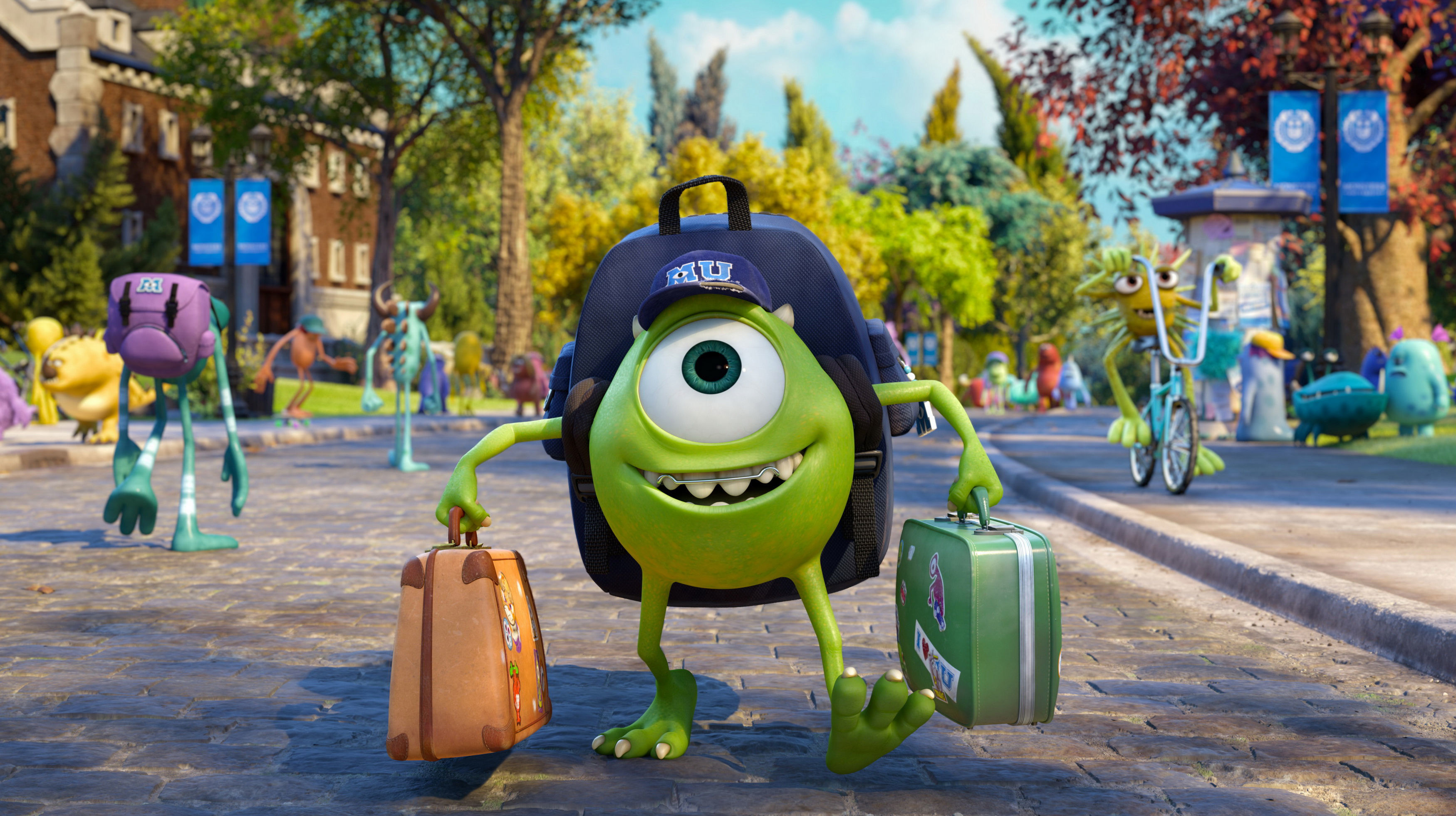 Monsters University Full HD Wallpaper and Background ...
