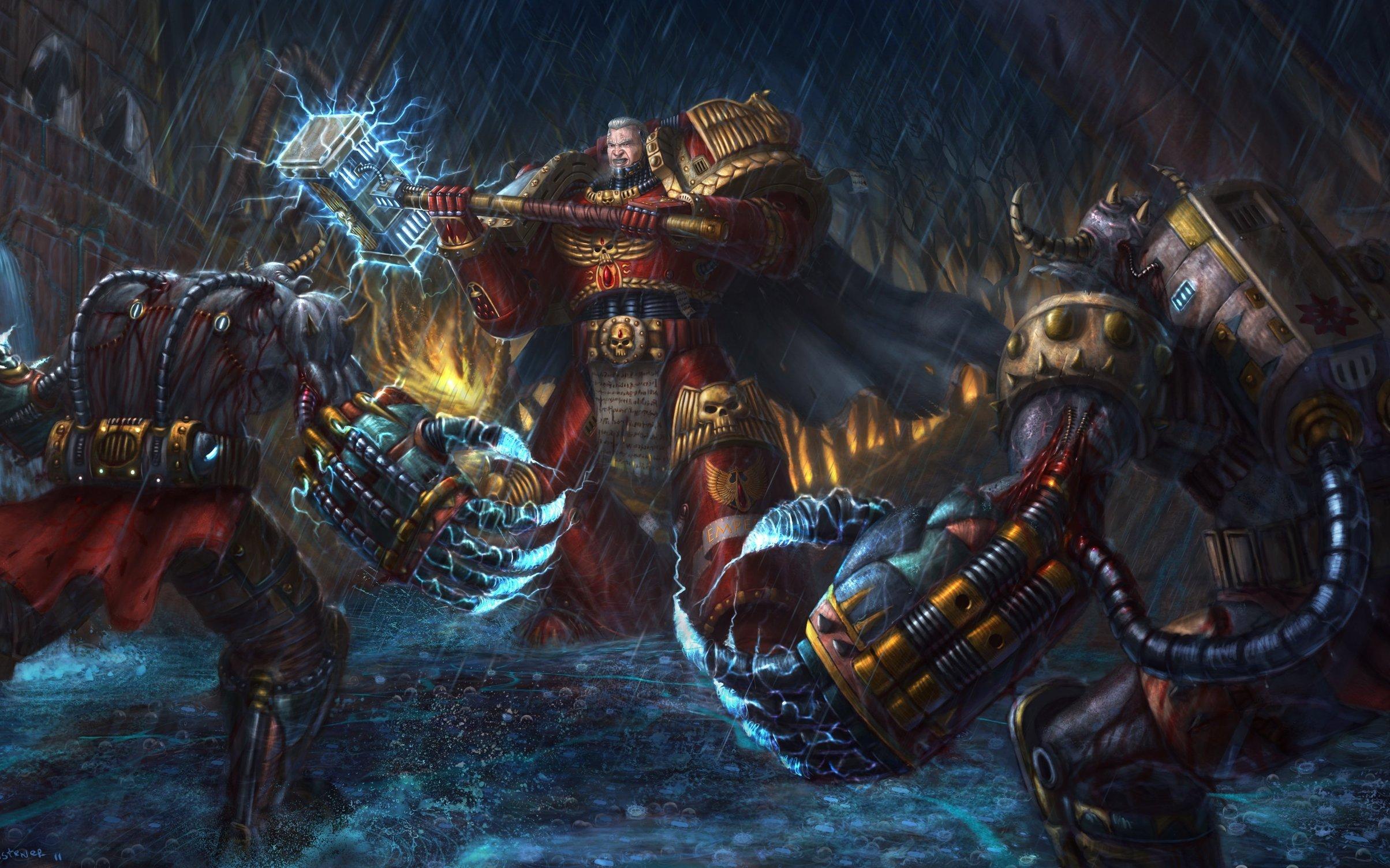 Warhammer 40k death company wallpaper - Blood Angels Captain Vs Something Librarium Pinterest Warhammer 40k