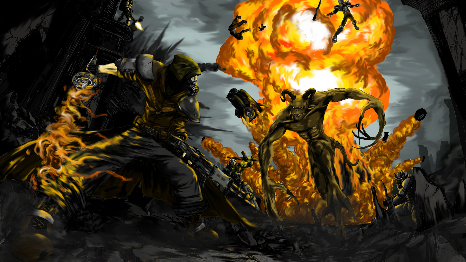 Fallout 3 full hd wallpaper and background image 1920x1080 id video game fallout 3 wallpaper altavistaventures Choice Image