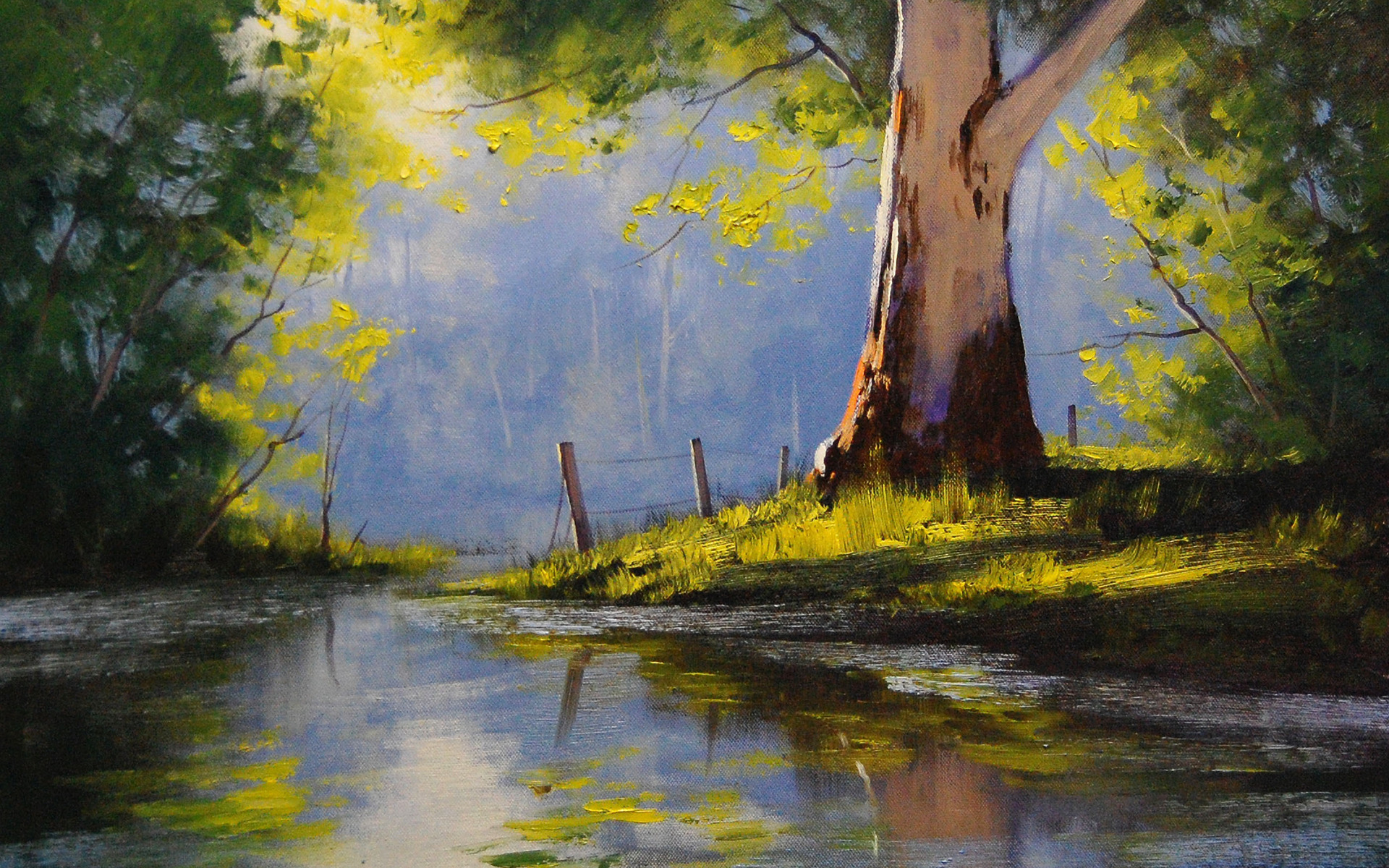 Oil painting full hd wallpaper and background image for Best paint to use for outdoor mural