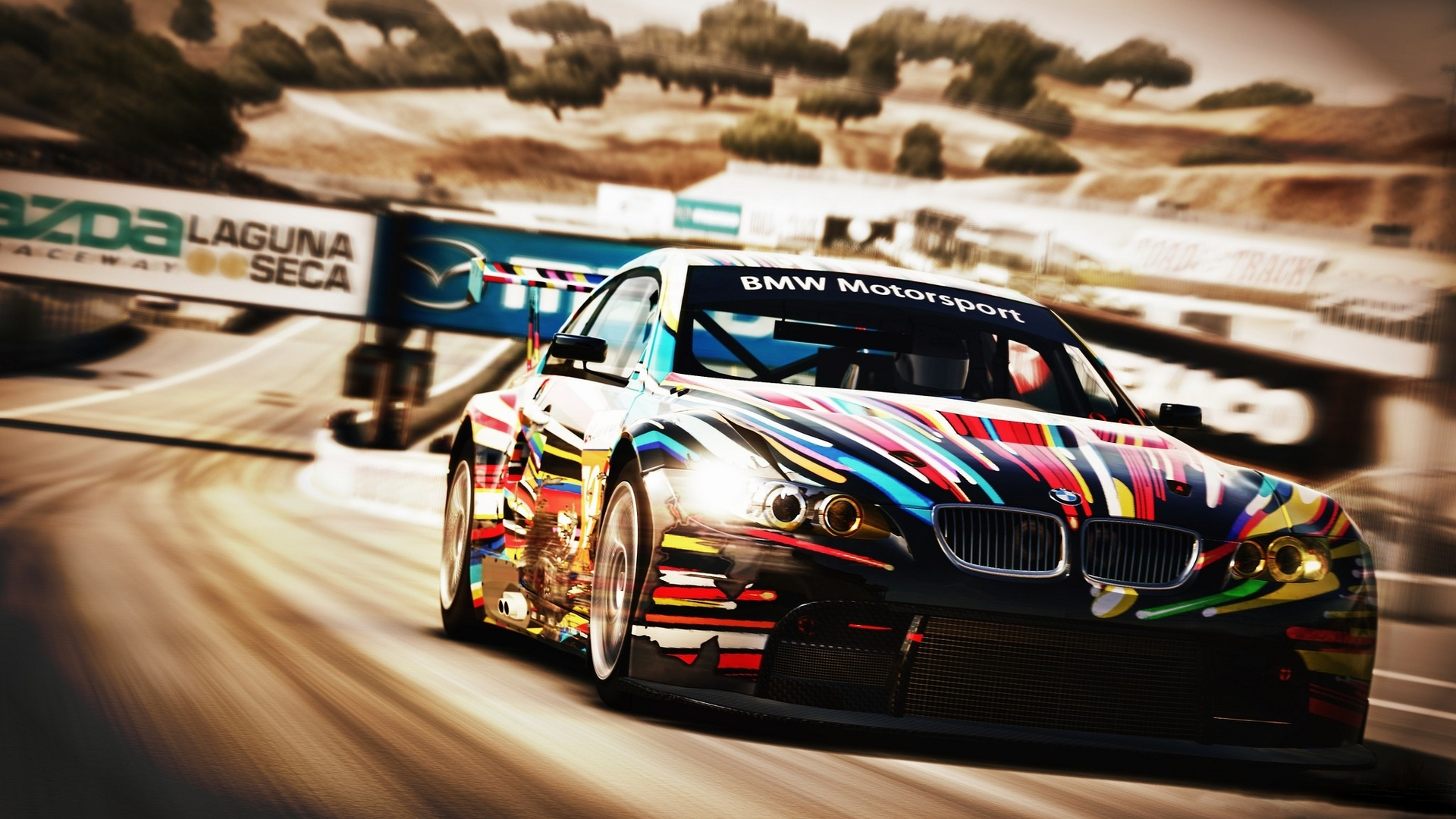 Group Of Bmw Race Wallpaper