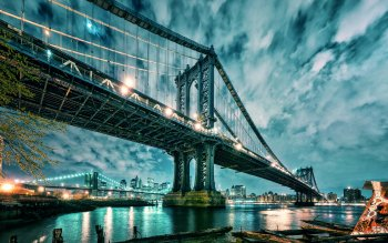Man Made - Brooklyn Bridge Wallpapers and Backgrounds ID : 361550