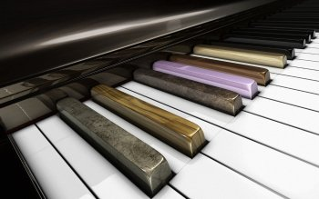 Musik - Piano Wallpapers and Backgrounds ID : 361931
