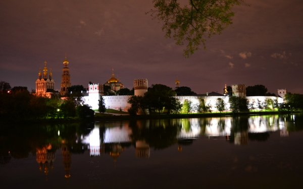 Man Made Monument Monuments Novodevichy Convent HD Wallpaper   Background Image