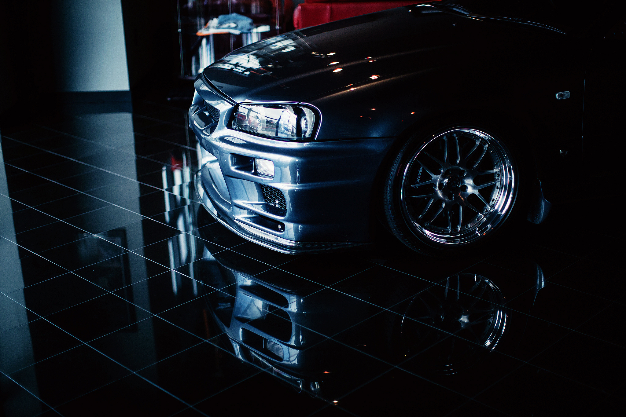 10 Nissan Skyline R34 HD Wallpapers